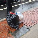 Residential Trash out Illegally at 772 Columbus Ave