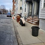 Residential Trash out Illegally at 130 P St, South Boston
