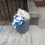 Residential Trash out Illegally at 525 Beacon St, 9