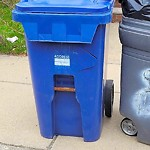 Recycling Cart Return at 8 Croftland Ave, Dorchester
