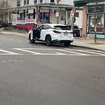 Illegal Parking at 333 Centre St, Jamaica Plain