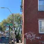 Illegal Graffiti at Intersection Of Mckay Pl & Maverick St, East Boston